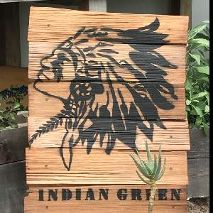 indiangreen